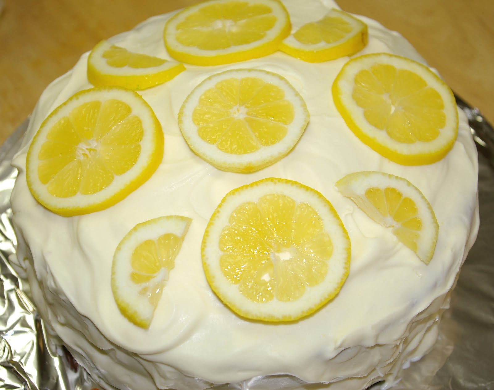 Lemon Refrigerator Cake Recipe