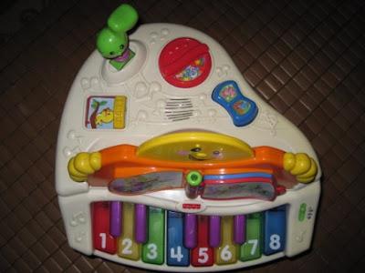 Baby Equipment Fisher Price Grand Piano