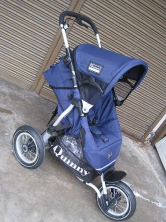 Baby Equipment Quinny Xl Freestyle Jogger Stroller Set