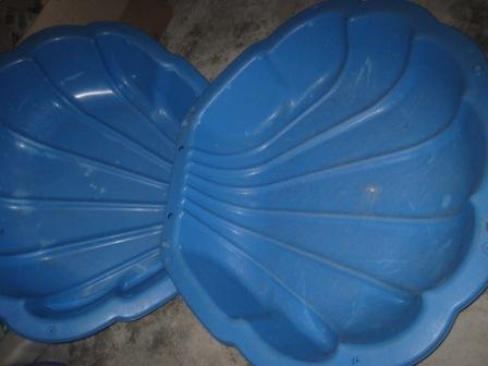 big sea shell sandbox baby pool my baby shop. Black Bedroom Furniture Sets. Home Design Ideas