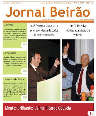 Vila de Moimenta da Beira na internet  Jornal Beirão «1ª Página ... 2ec8754477