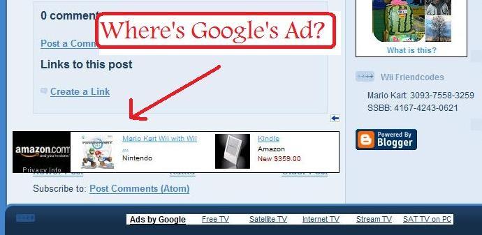 Patrick Soon: Hotspot Shield Amazon Ads Covering Google Ads