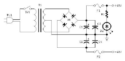 Electronics Circuits: 60W MosFet Audio Amplifier