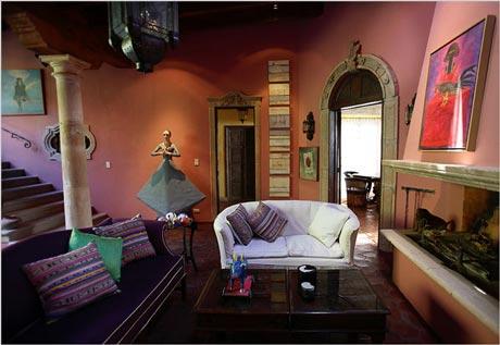Decoraci n estilo mexicano desde jalisco - Decoracion estilo colonial moderno ...