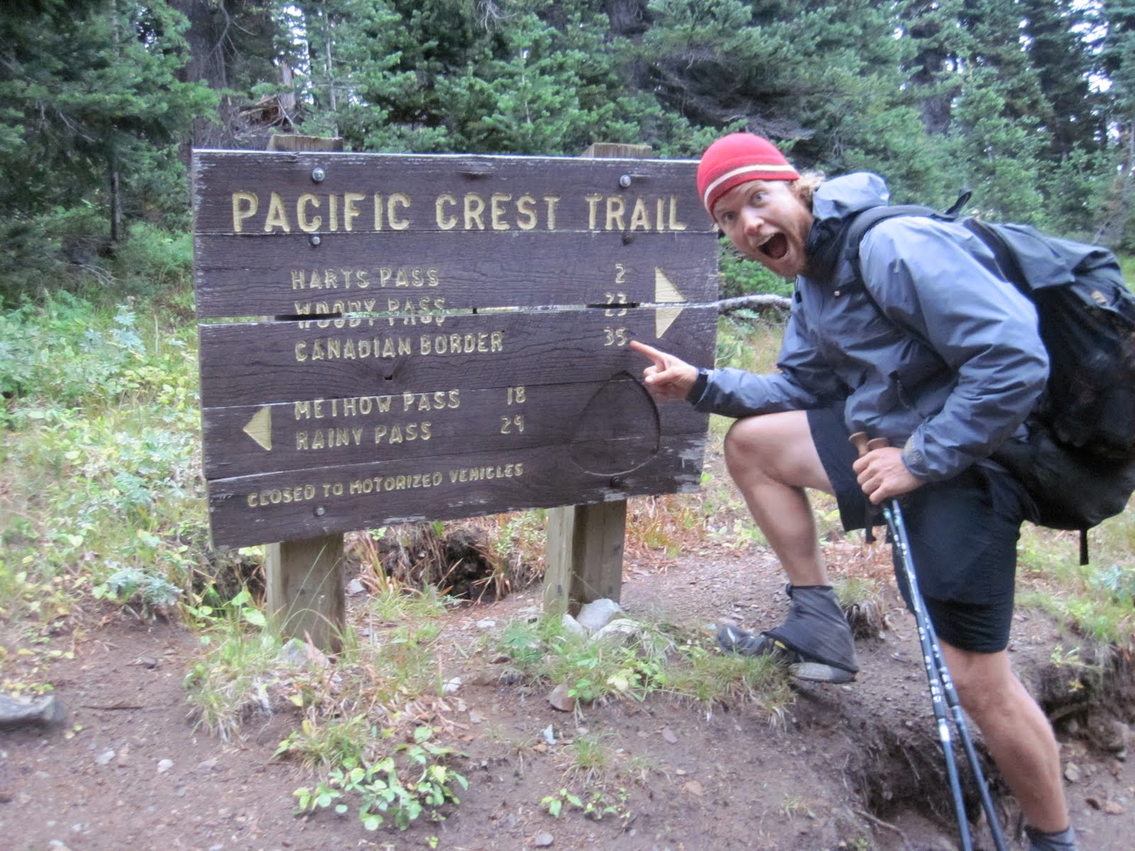 Mikes Hike Pacific Crest Trail 2010
