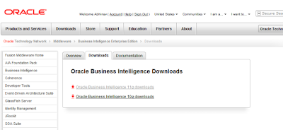Abhinav's Tech Blog: OBIEE 11g Available for Download