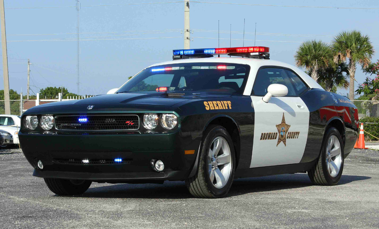 411 Corner: Dodge Challenger R/T Police Car