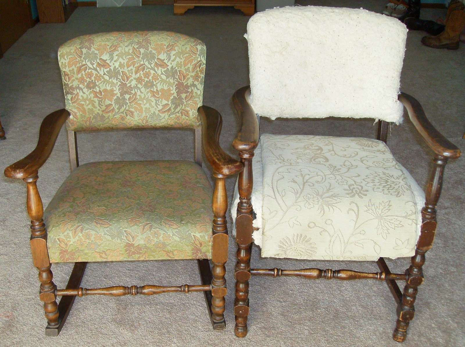 Reupholster Dining Chairs Osaka Massage Chair How To A French Tuffted
