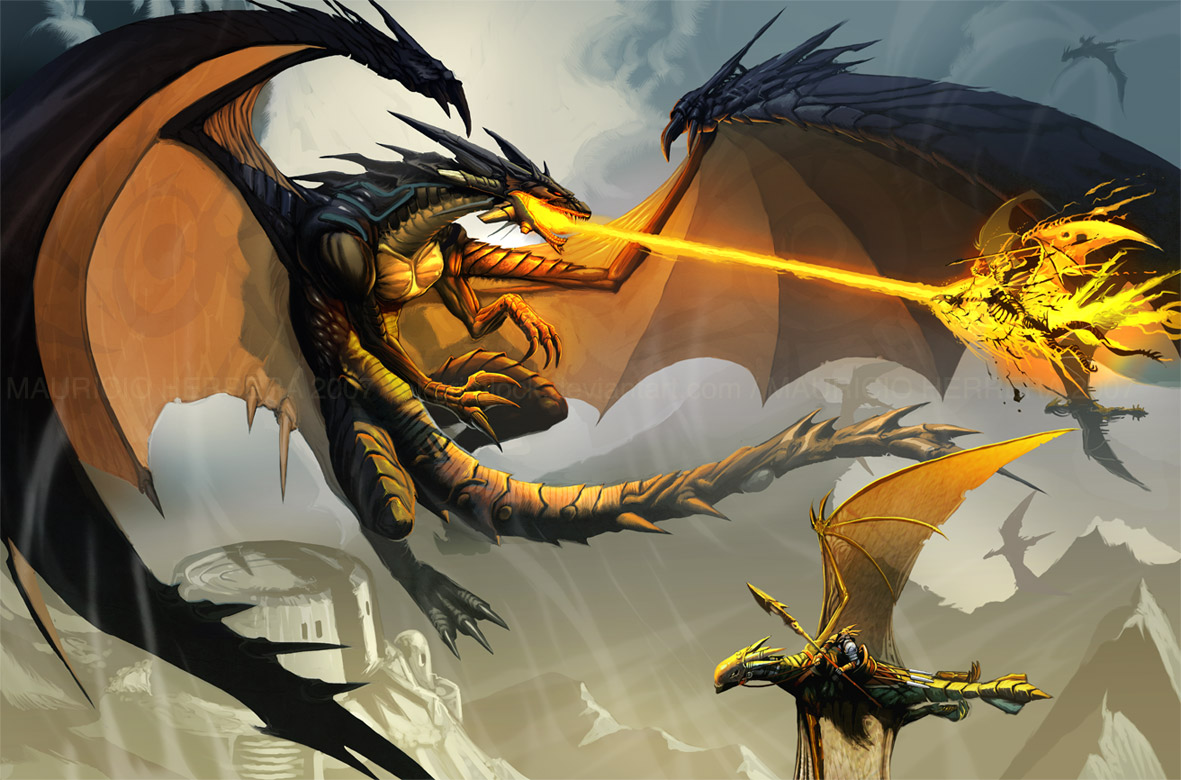 Books with Dragons: Dragon Pictures