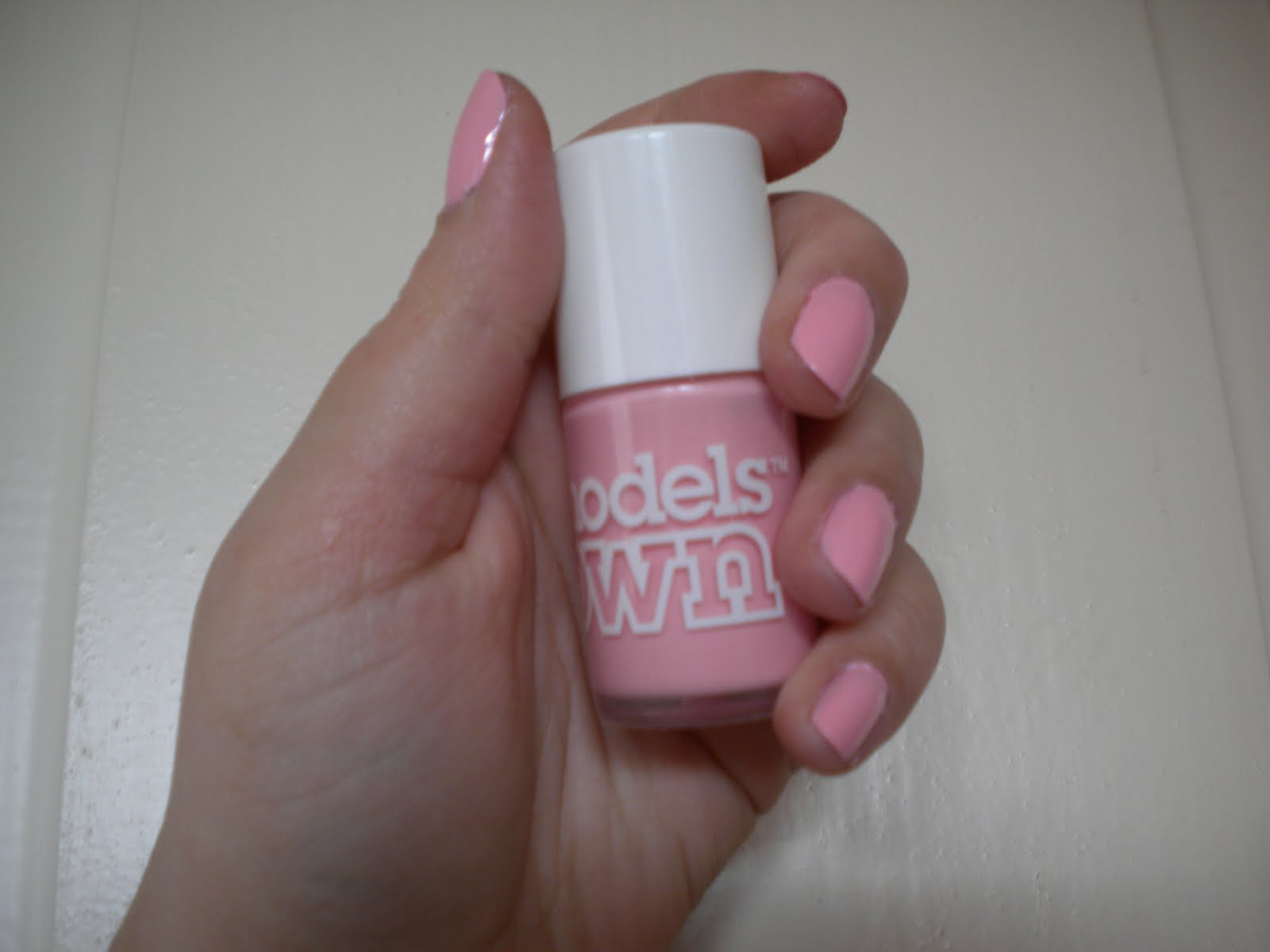 Models Own nail polish in Pastel Pink Image