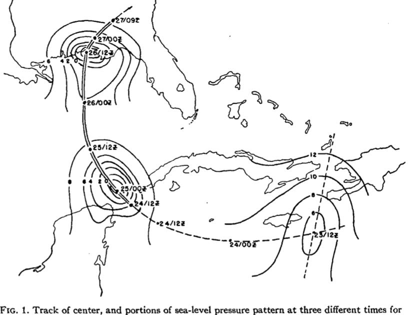 Hurricane & Tornado Climate: Noel LaSeur: June 25, 1922