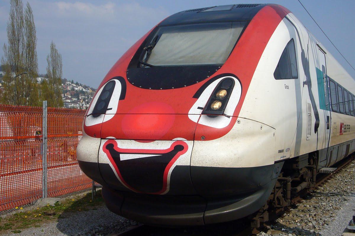 Planes and Trains - Trains: Mai 2010