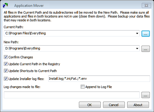 Move Installed Applications to Another Drive   SumTips