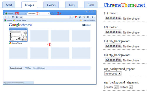 3 Tools to Create Your Own Google Chrome Theme | SumTips