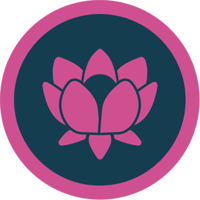 Downward Facing Dog Badge