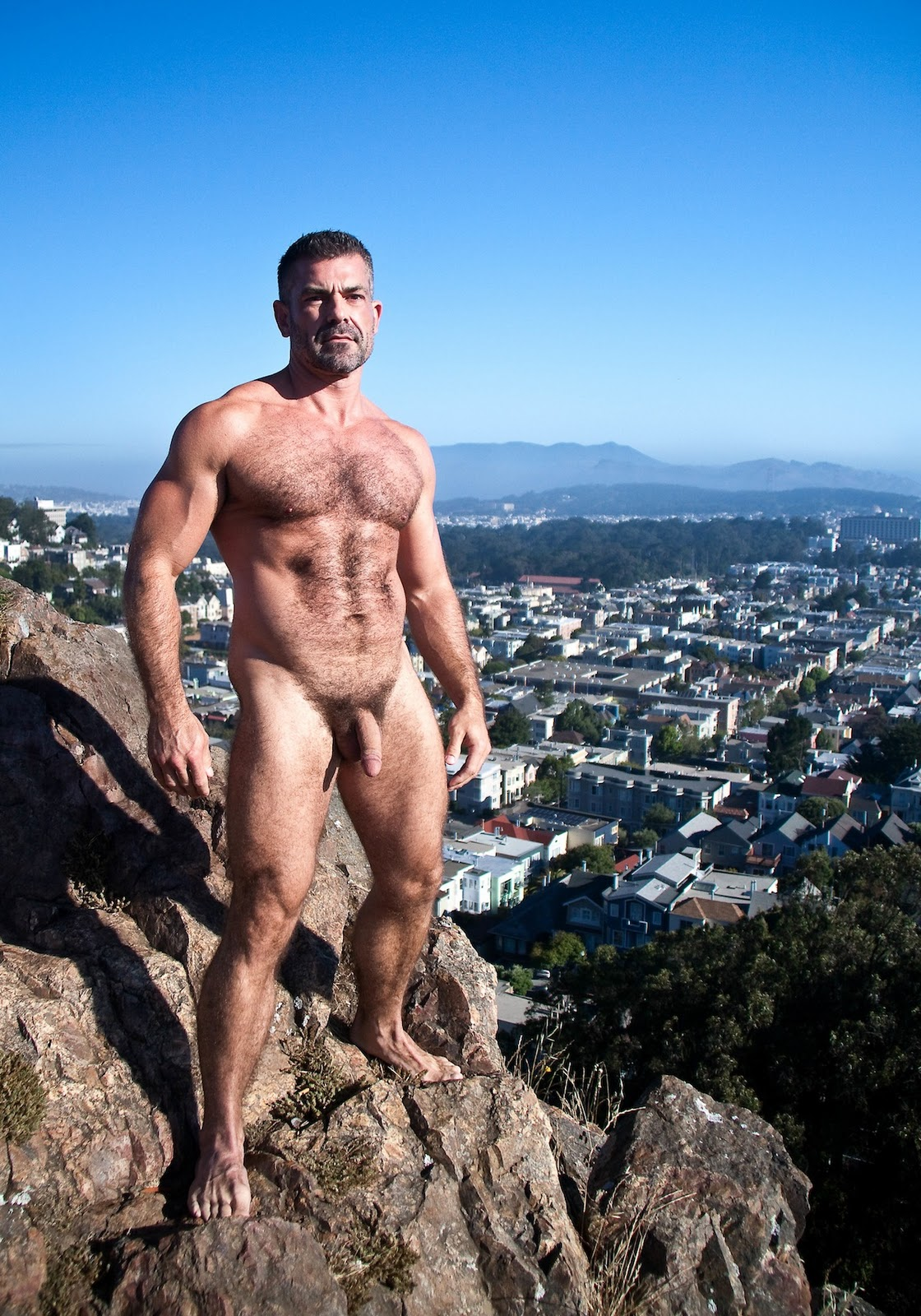 Very naked mountain men message
