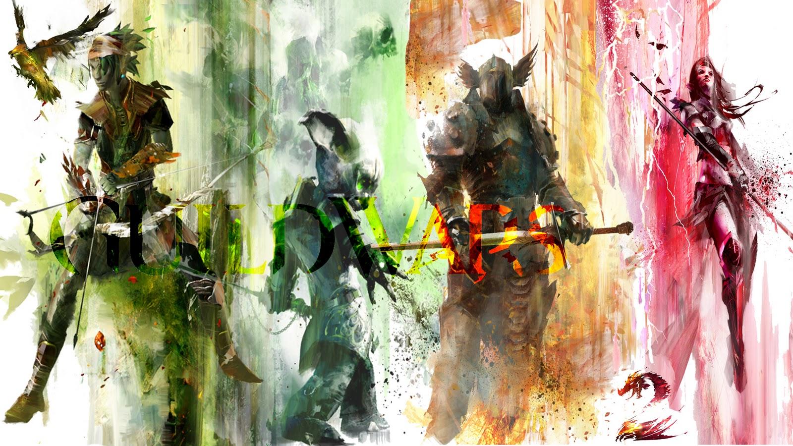 Guild Wars 2 Wallpaper: Gw2 Wallpaper Warrior