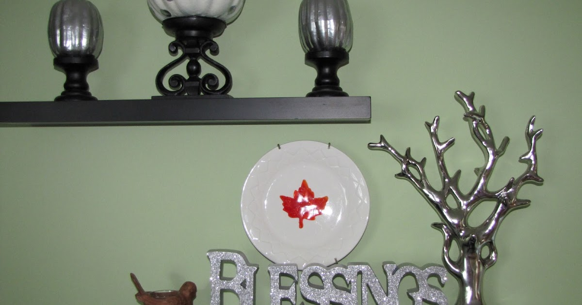 Sustainably Chic Designs ThanksgivingFall Decorating in Dollar Tree fashion