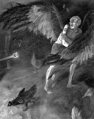 A Very Old Man With Enormous Wings 19