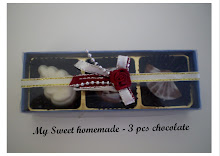 doogift - 3 pcs chocolate with ribbon
