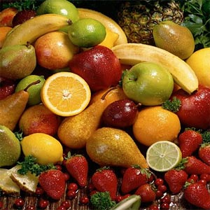 Fruits and Real Diet