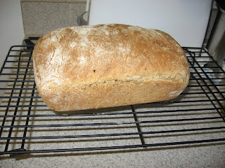 Oat Bran Broom Bread, from Peter Reinhart's Whole Grain Breads