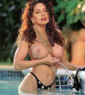bollywood actress open back