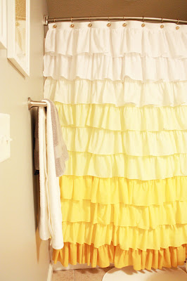 Ruffle Shower Curtain by Elle Apparel