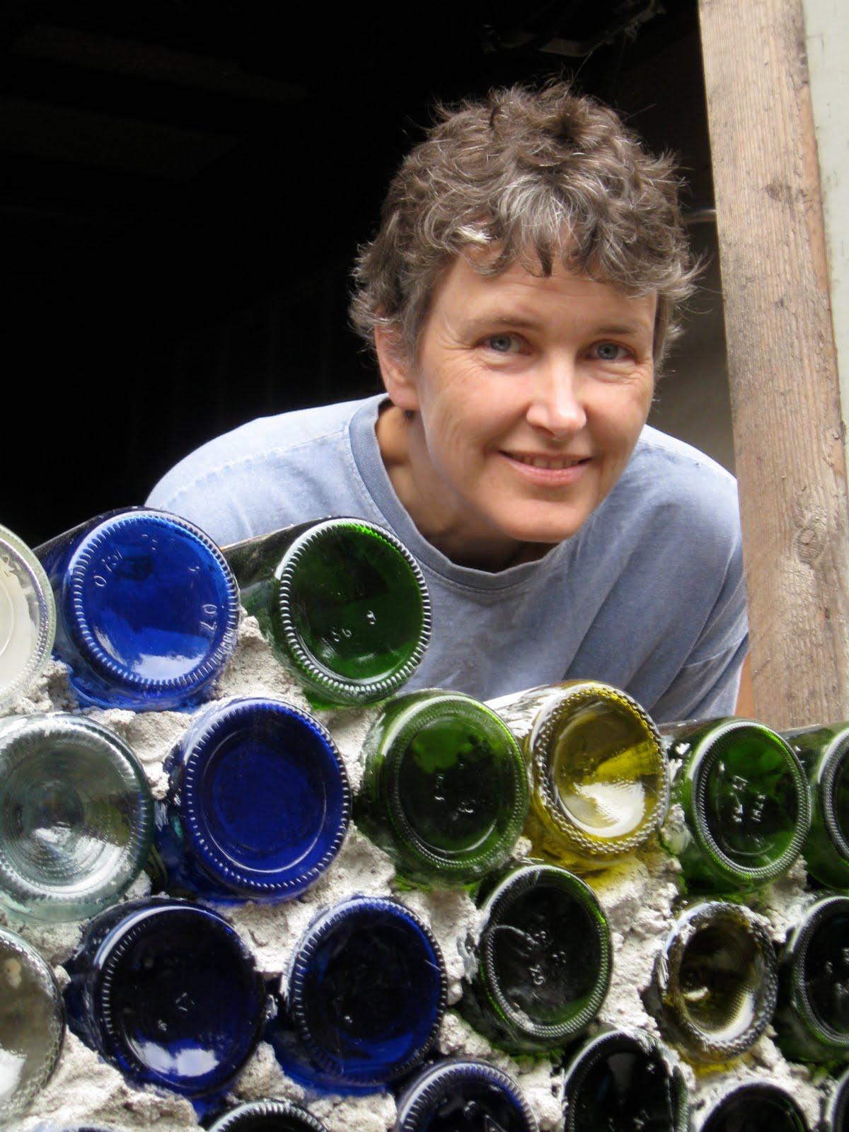 Boconn13 Wine Bottle Brick Wall