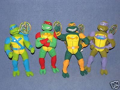 Ebay Auction Tmnt Fast Forward Plush Toys