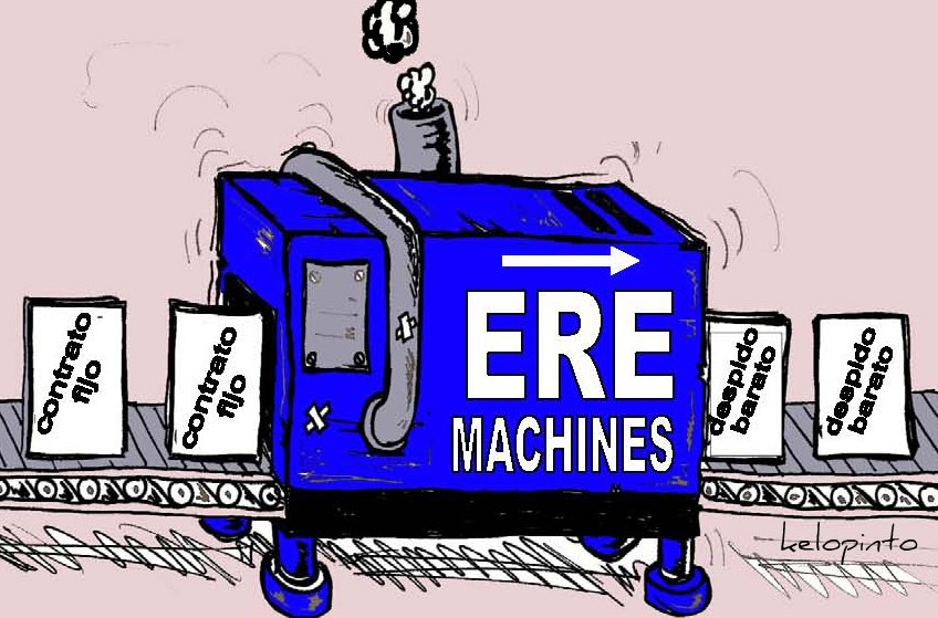 ERE machine