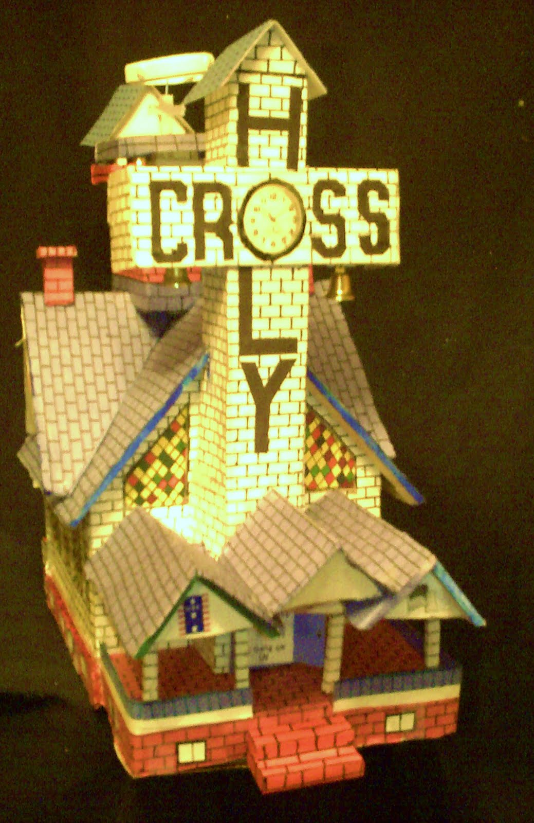 assemblage paper church