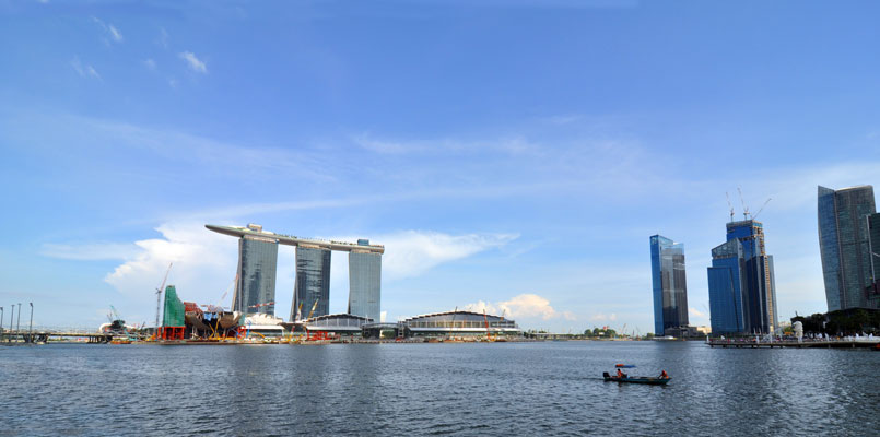 Our Life In Singapore Marina Bay Sands Not Just Another
