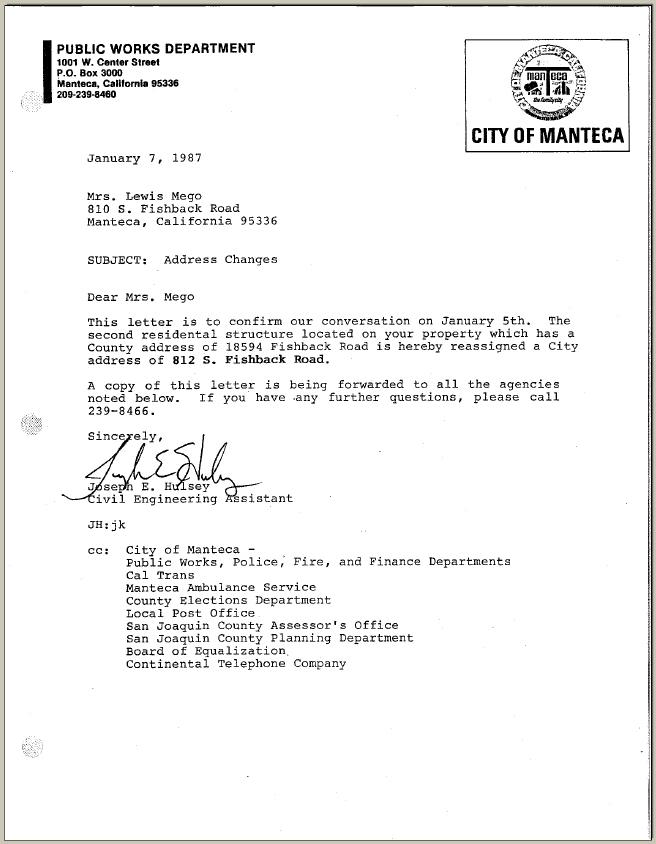 Sample request Letter For Demolition Building