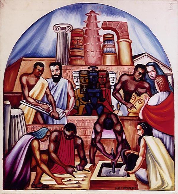 The Art Of The Negro Study Hale Woodruff Murals At Clark