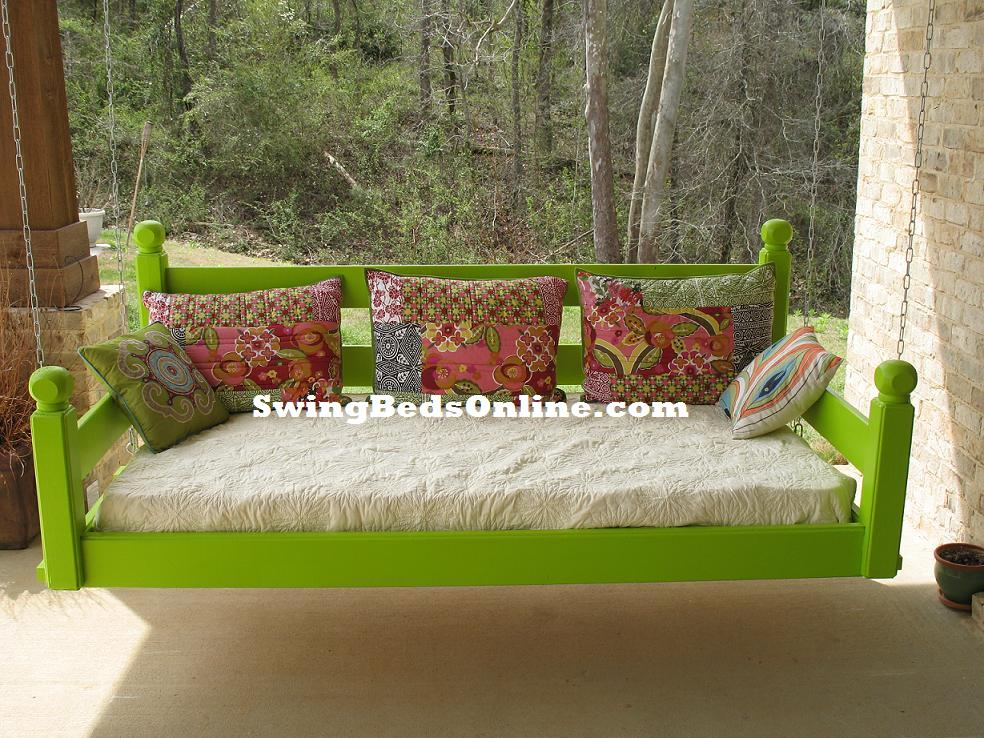 swinging beds