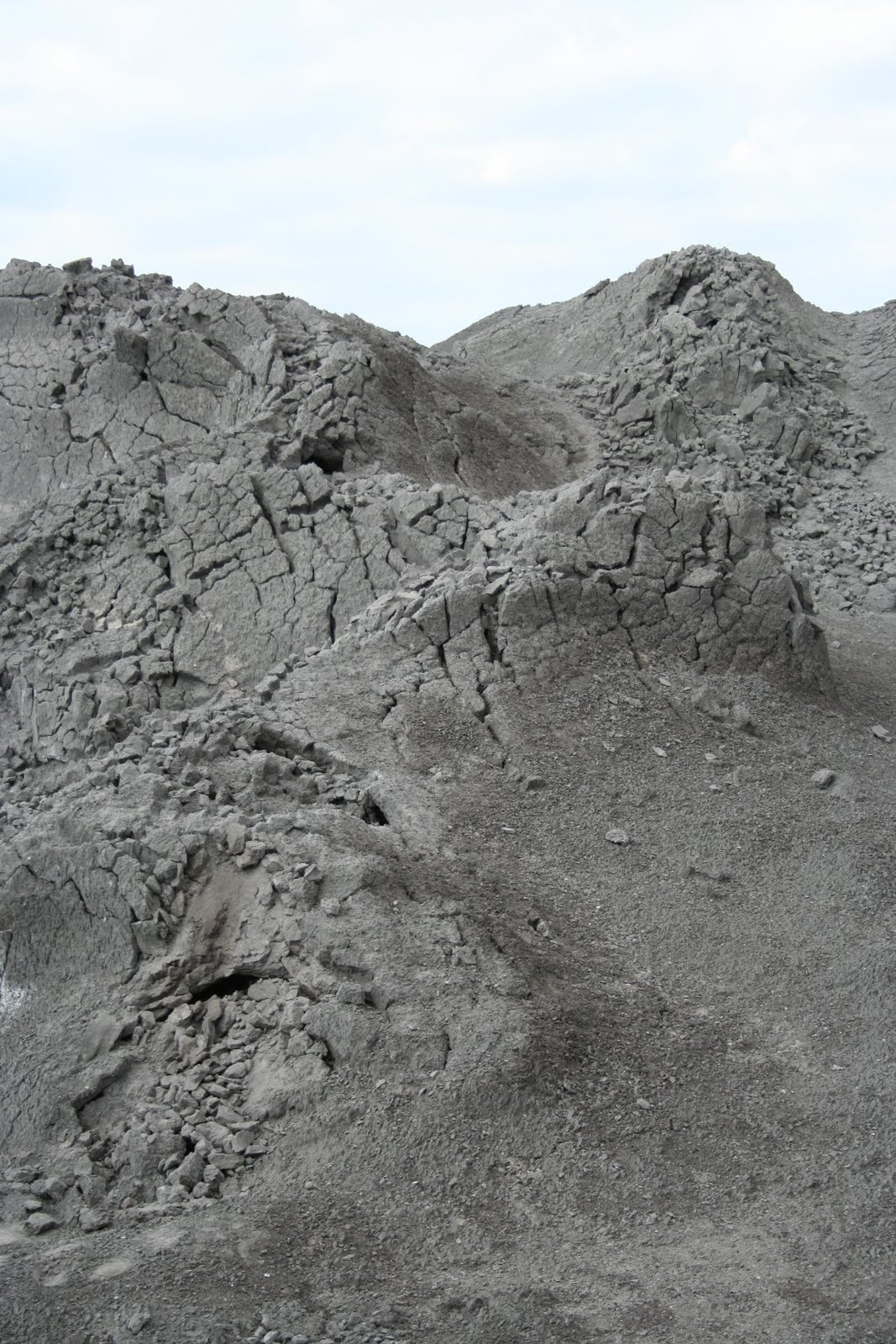 Bokoshe Oklahoma Home of a fly ash dump site