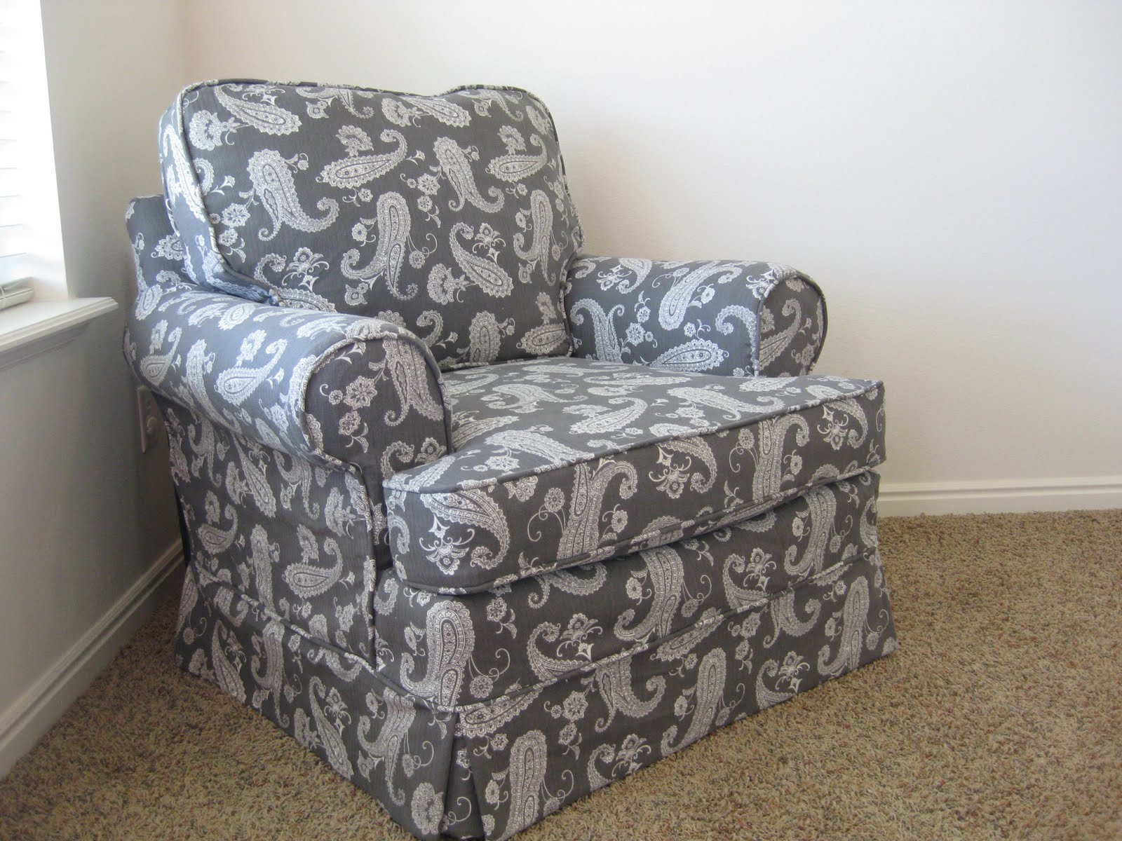 Fabric Dining Chair Covers Australia Cheap Camping Chairs Custom Slipcovers By Shelley Camille 39s Front Room