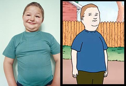 one-sided war: bobby hill