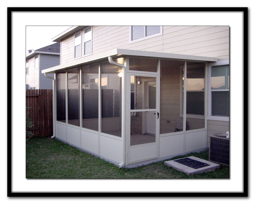 Living Stingy: Screen Room or Sun Porch? on Cheap Patio Enclosure Ideas  id=11346