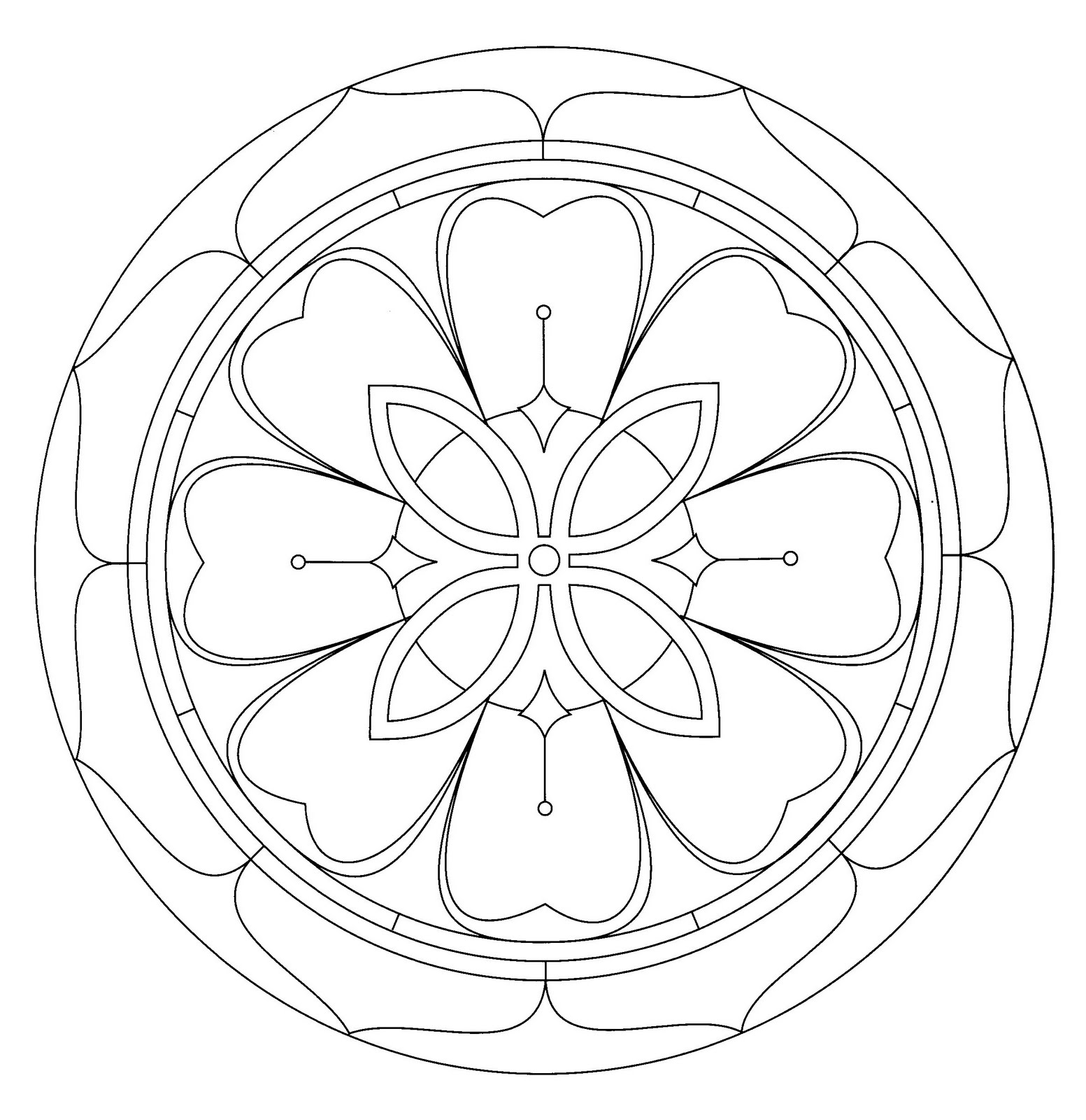 kids mandala coloring pages - mandala coloring pages free printable pictures coloring