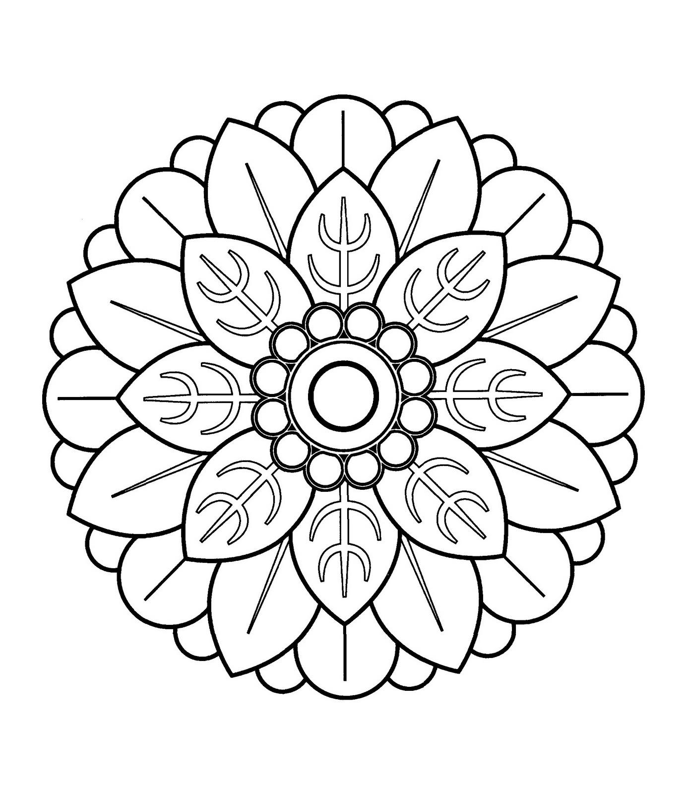 Mandalas Para Pintar Mandala Chino Iii