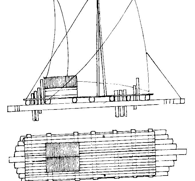 Indigenous Boats: Sailing Cargo Rafts of Ecuador and Peru