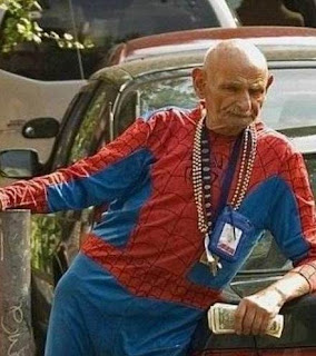 old spiderman
