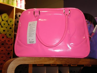 More Love for the Classy Classic Gym Bag - Recalling My Barbie Doll Days.  The Classsy Classic gym bag really speaks to me. Maybe because it comes in  Barbie ... d2245dfb191a9