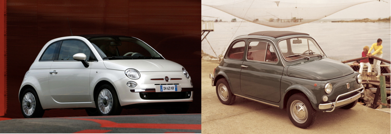 With The Introduction Of Nuova Fiat 500