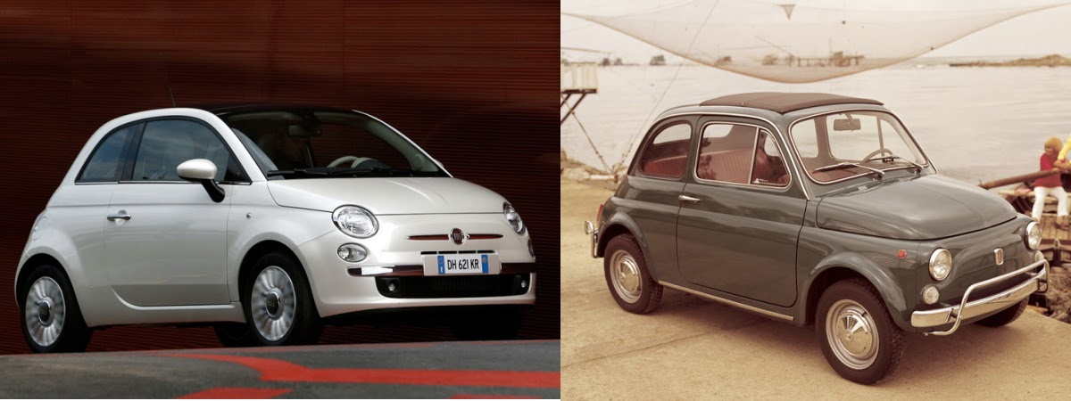 Austin Direct Auto Sales >> Fiat 500 vs Mini Cooper vs Volkswagen Beetle - Old And New ...