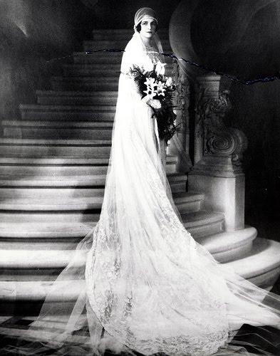 Wordless Wednesday ~ 1920's Bride
