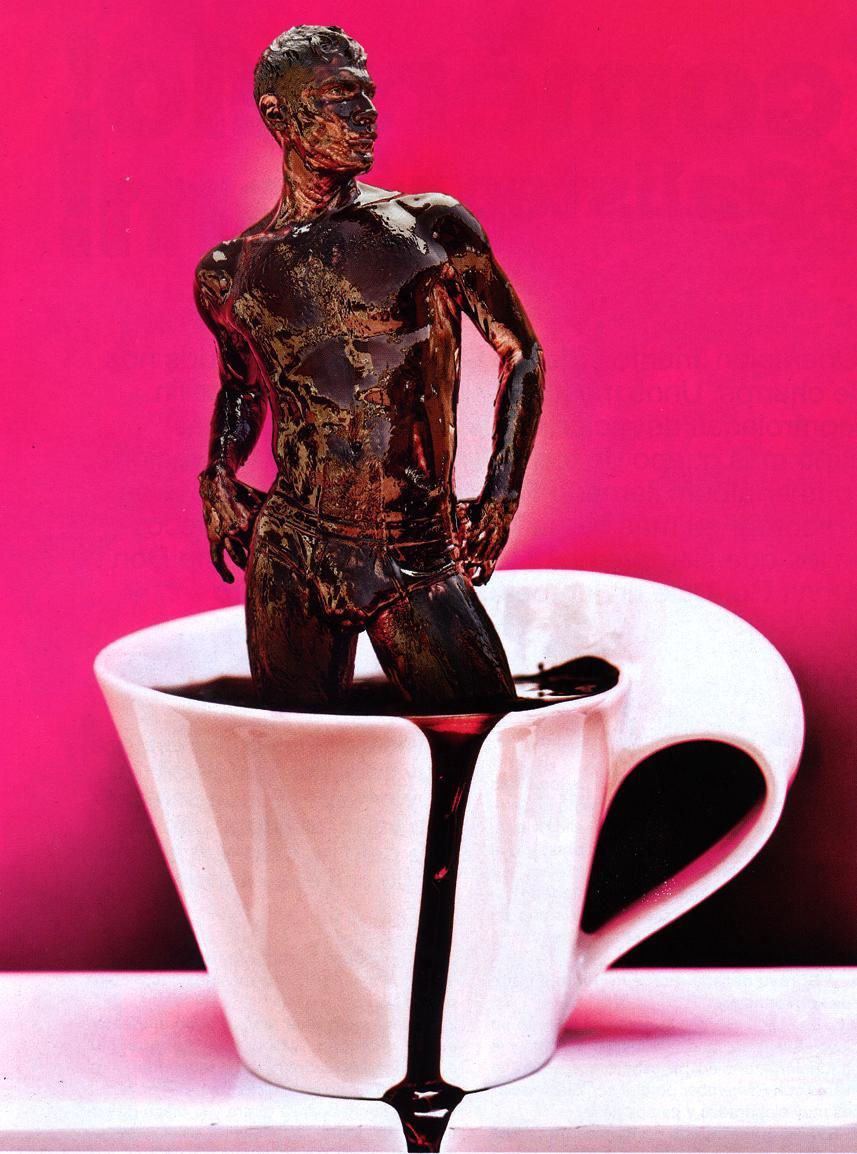 фото парень в шоколаде подойдет для любой