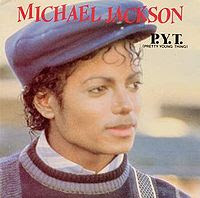 The cover to Michael Jackson's 1983 single PYT